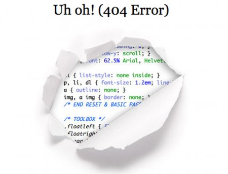 wonderful error 404